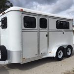 Collinarndt 2 Horse Bumper Pull W/ Dressing Room - The Hitch And Tow - C&c Horse Trailer Wiring Diagram