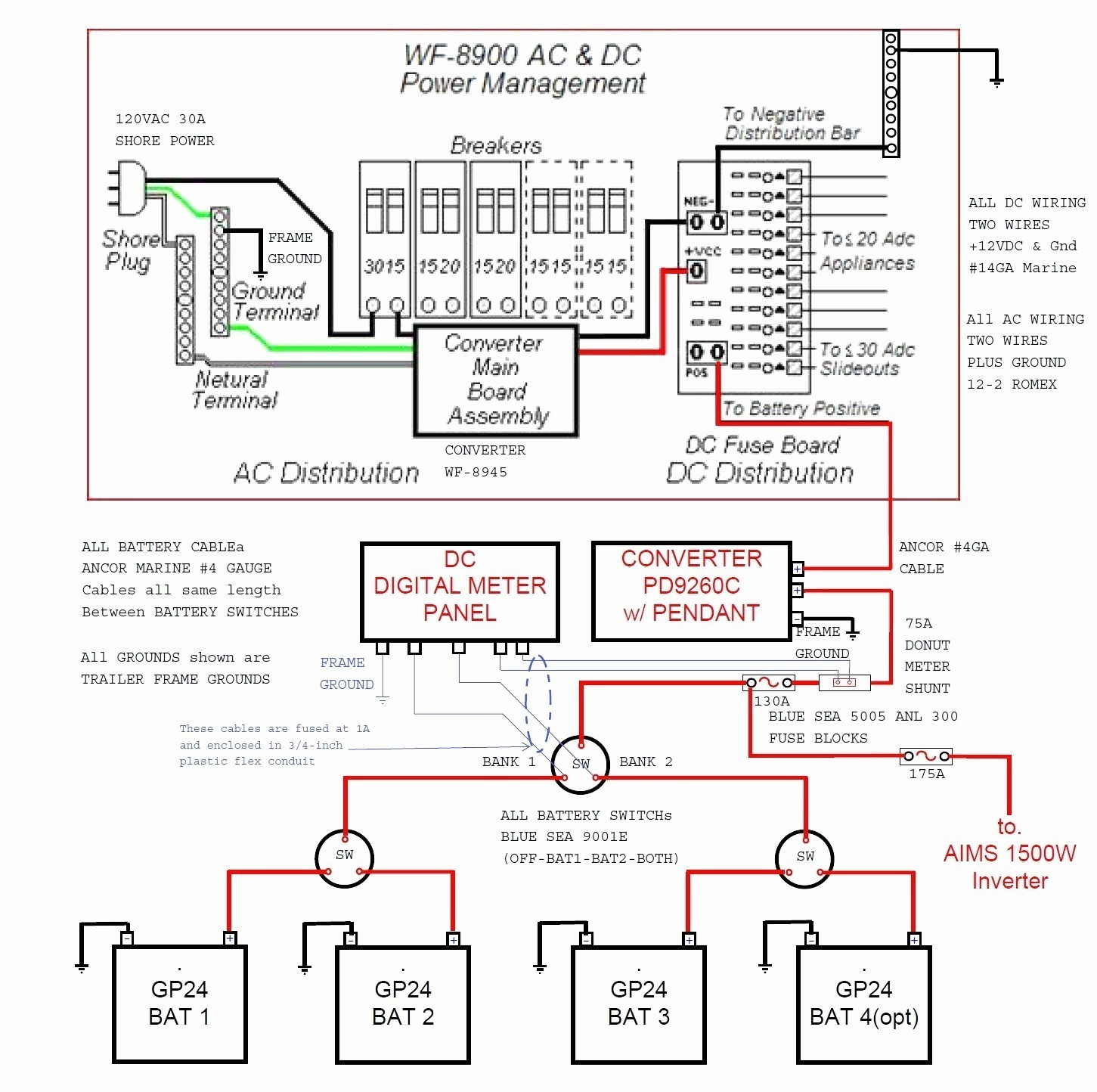 Comet Travel Trailer Wiring Diagram | Manual E-Books - Travel Trailer Wiring Diagram