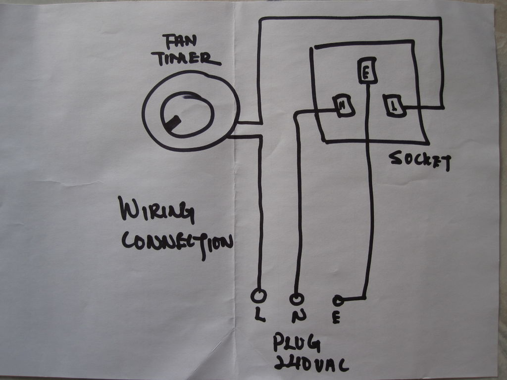 Diy Timer Switch !!!: 4 Steps (With Pictures) - Trailer Socket Wiring Diagram