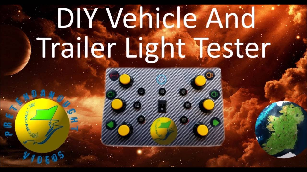 Diy Trailer Plug Light Tester Tutorial - Youtube - Trailer Light Tester Wiring Diagram