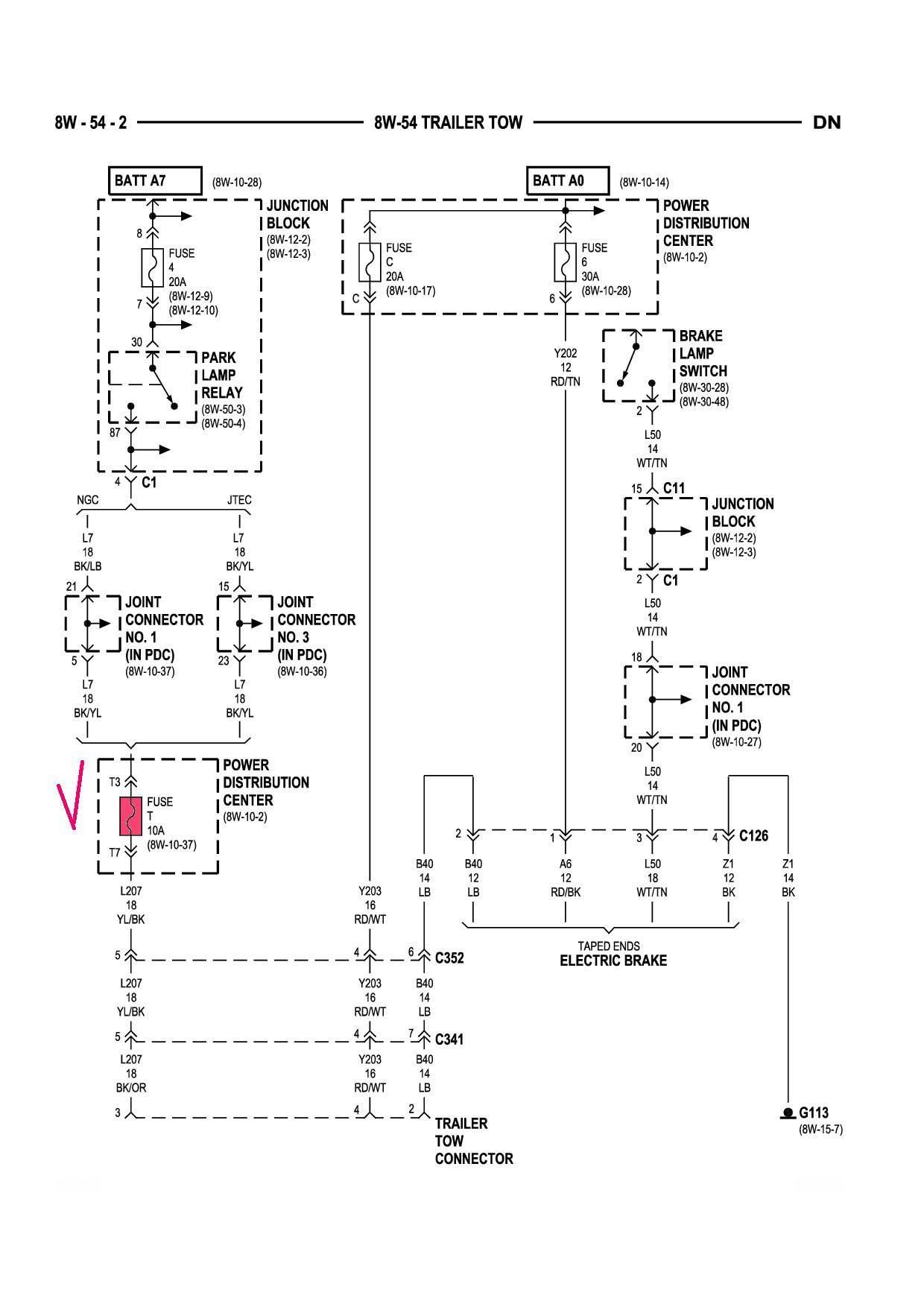 2002 Dodge Dakota Trailer Wiring Diagram