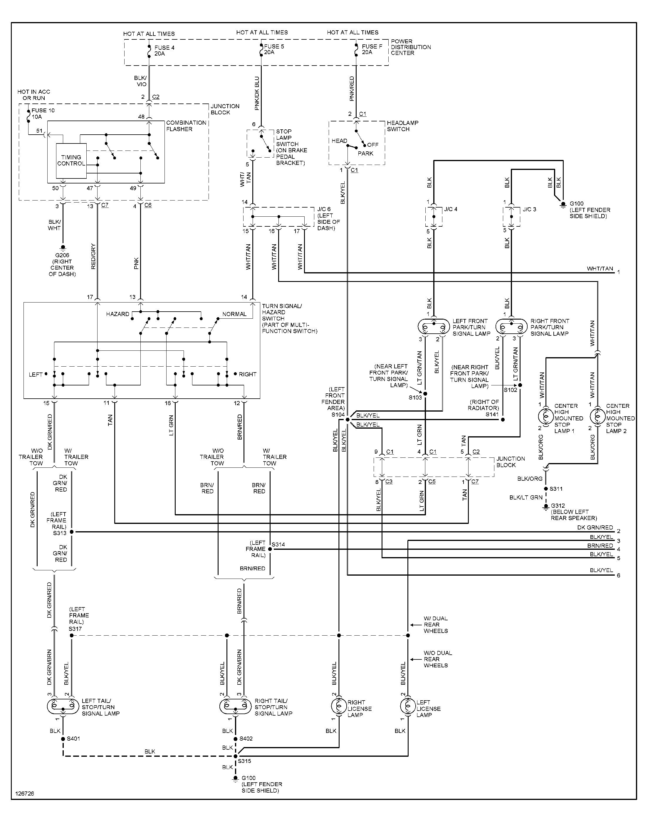 Dodge Ram 1500 Wiring Diagram Free 2018 2001 Dodge Ram Wiring - 2001 Dodge Ram 1500 Trailer Wiring Diagram