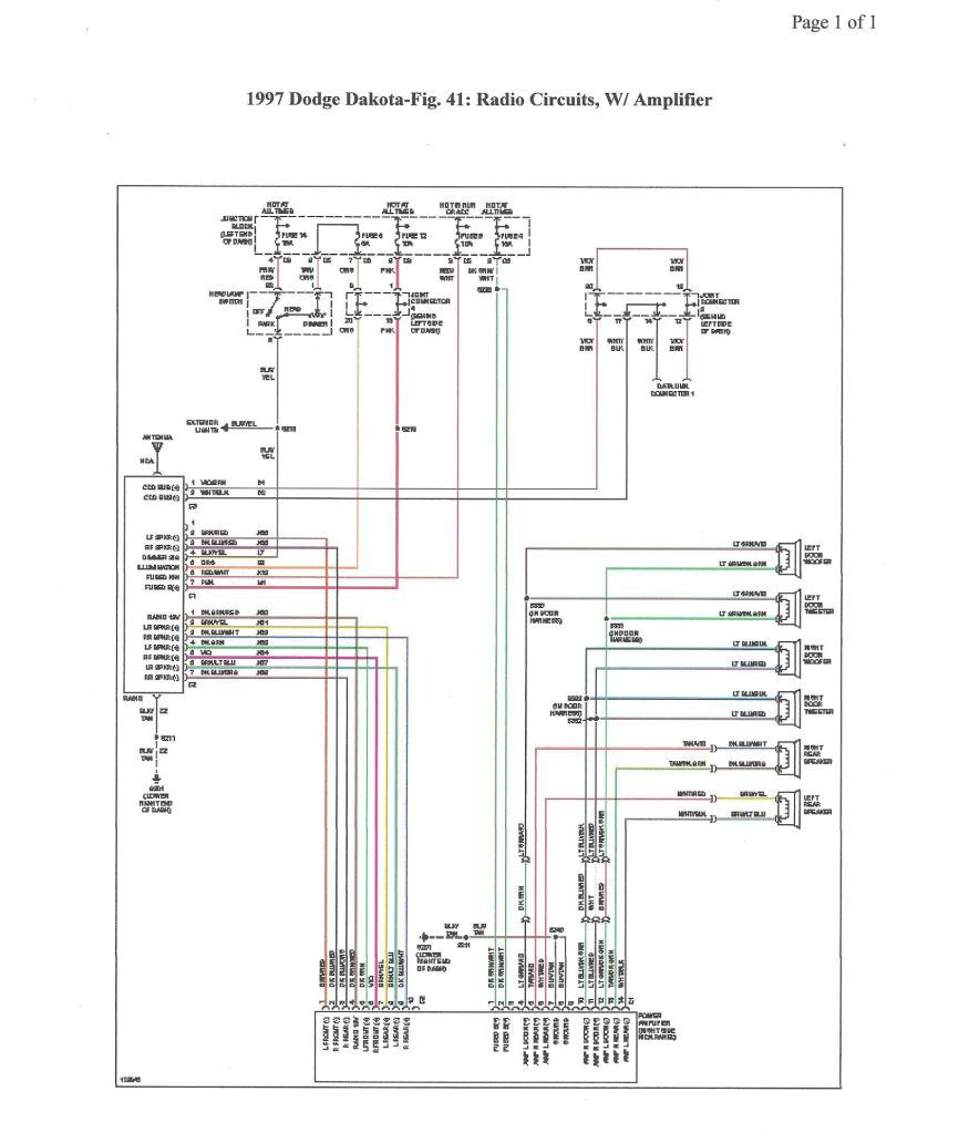 1997 dodge ram trailer brake wiring diagram