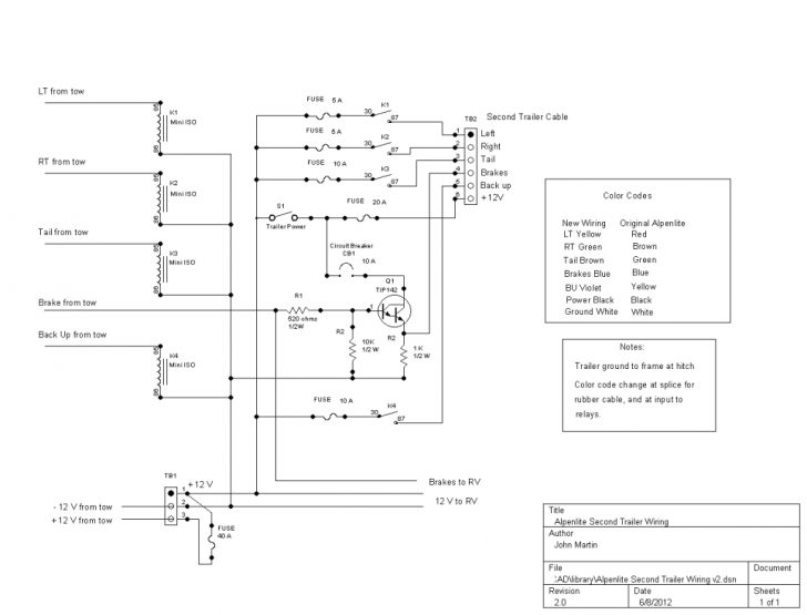 2003 Dodge Ram Trailer Wiring Diagram