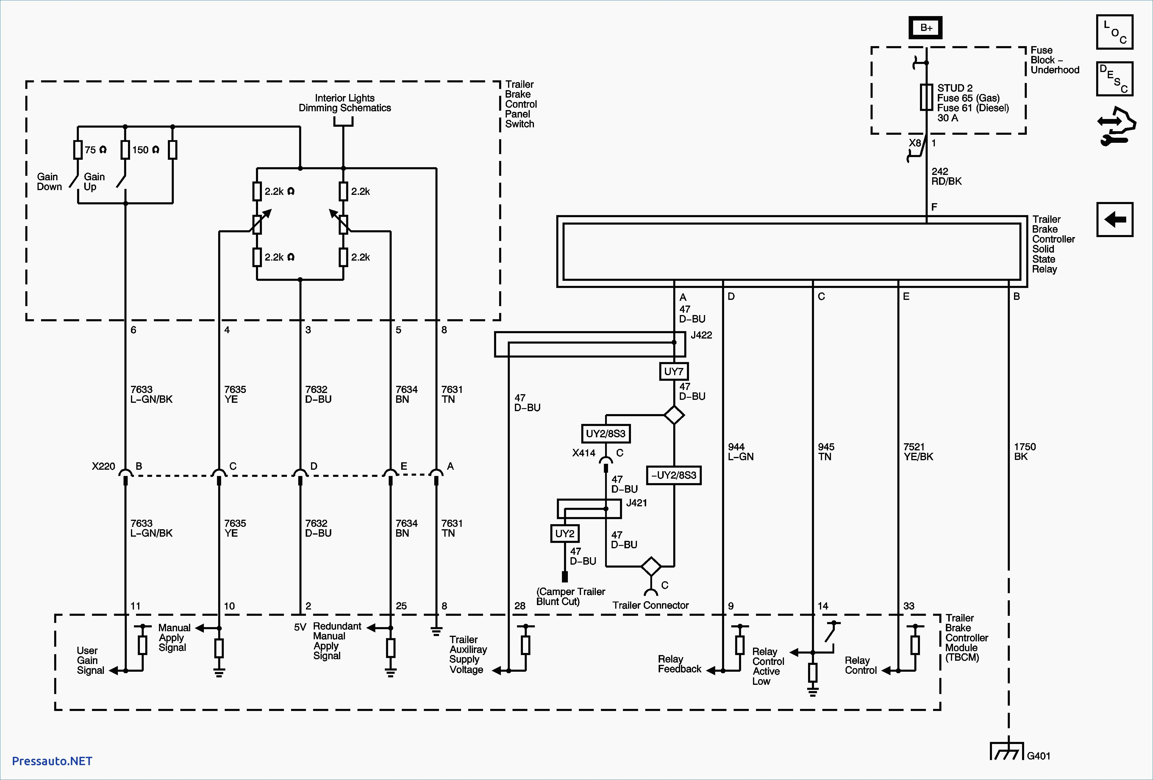 Draw Wiring Diagram | Wiring Library - T@b Trailer Wiring Diagram