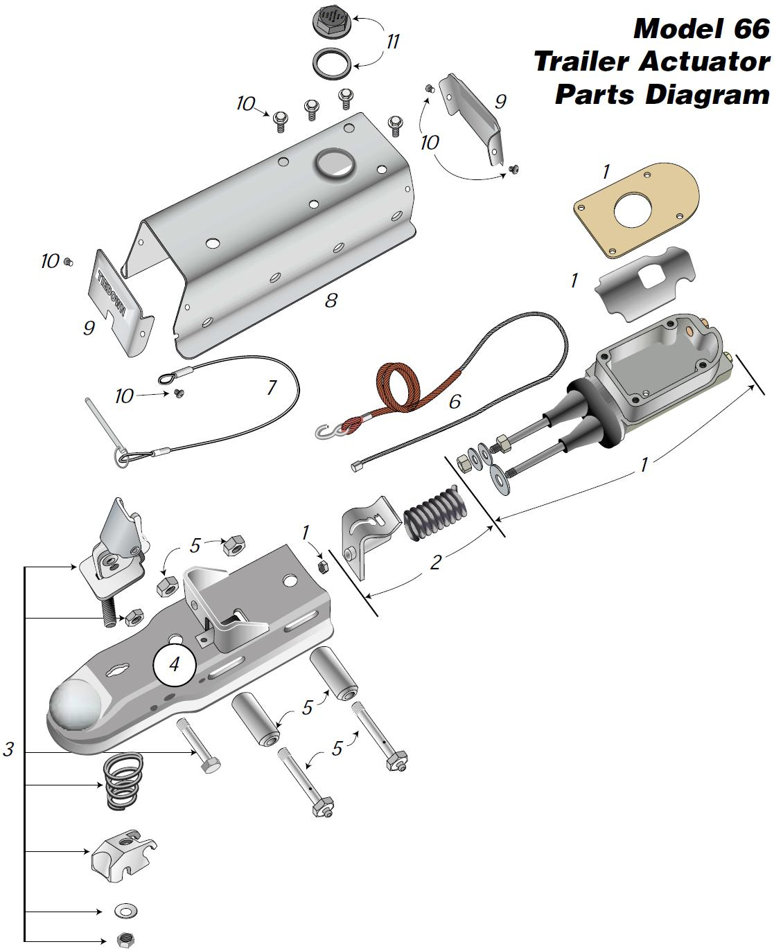 Wiring Diagram For Tandem Axle Trailer With Brakes