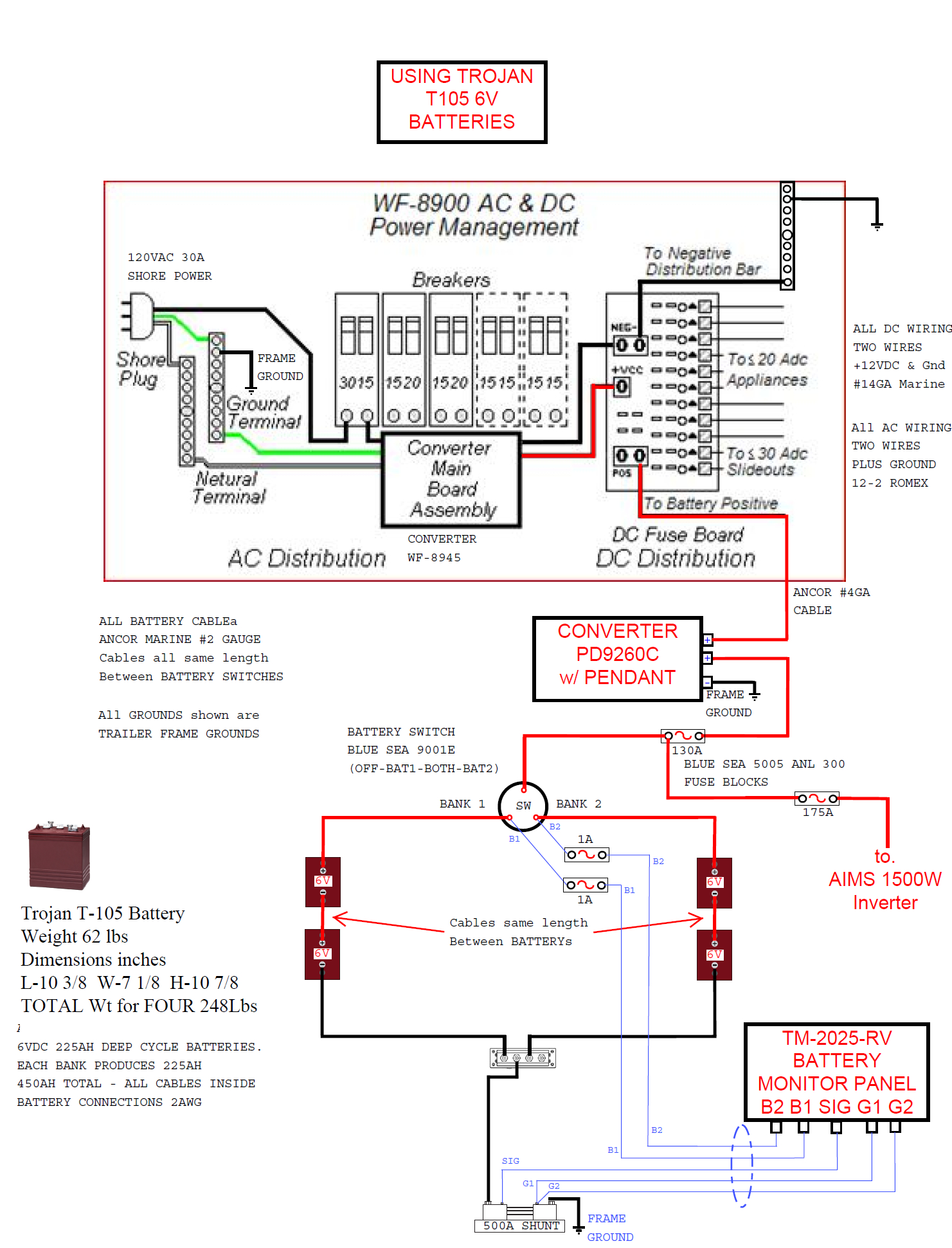 Dual Battery Disconnect Switch - Jayco Rv Owners Forum - Trailer Battery Wiring Diagram