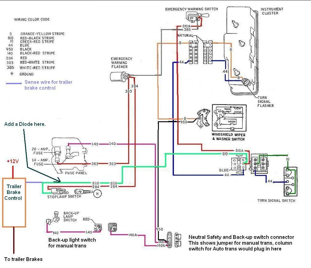 7 Pin Trailer Brake Wiring Diagram | Trailer Wiring Diagram