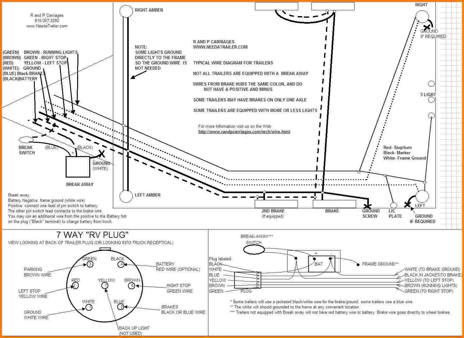 Electric Trailer Brakes Wiring Diagram Wiring Diagram New - Wiring Electric Trailer Brakes Diagram