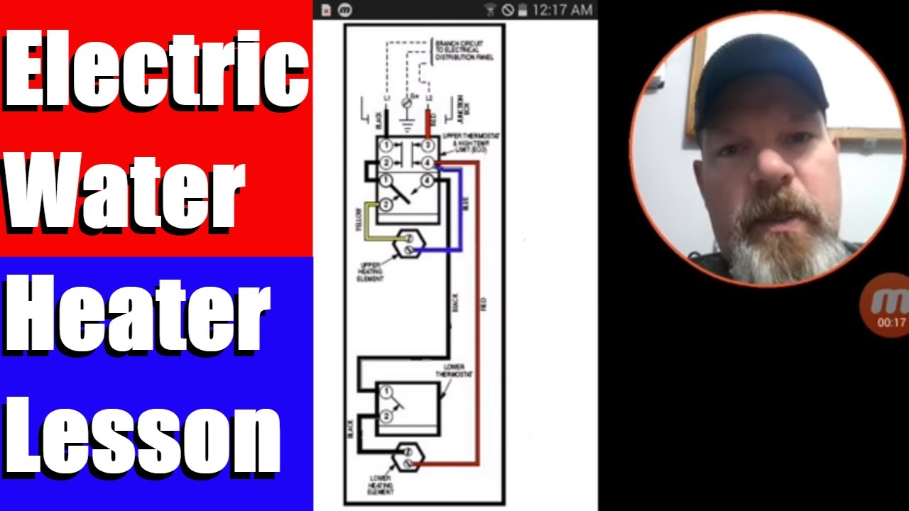 Electric Water Heater Lesson Wiring Schematic And Operation - Youtube - Extreme Trailer Wiring Diagram