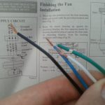 Electrical   How Do I Wire This Ceiling Fan?   Home Improvement   Trailer Wiring Diagram No White Wire