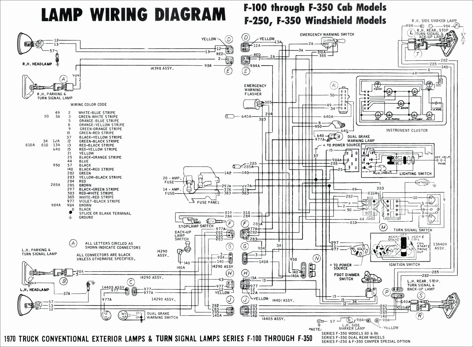 Flatbed Schematics | Wiring Diagram - Flat Trailer Wiring Diagram