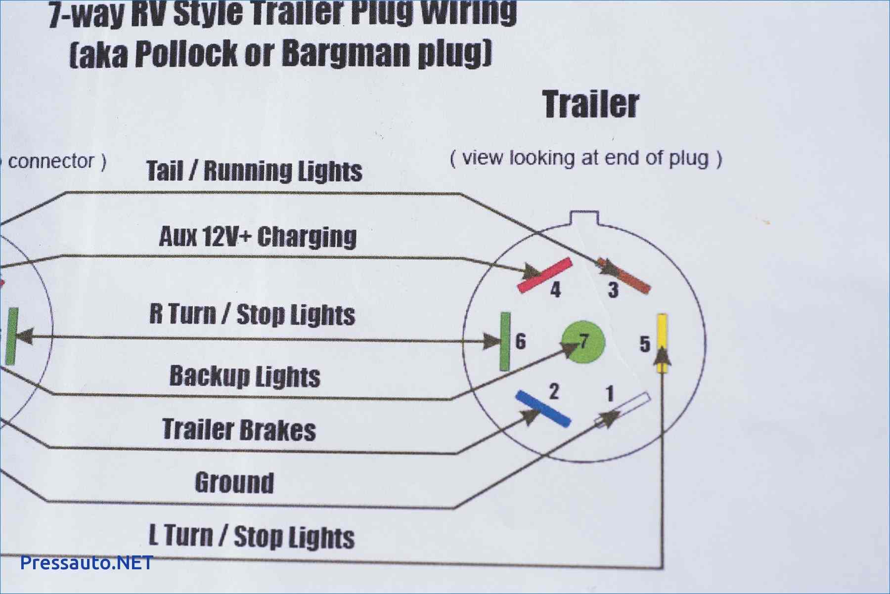 Ford 7 Way Plug Wiring | Manual E-Books - Round Trailer Plug Wiring Diagram