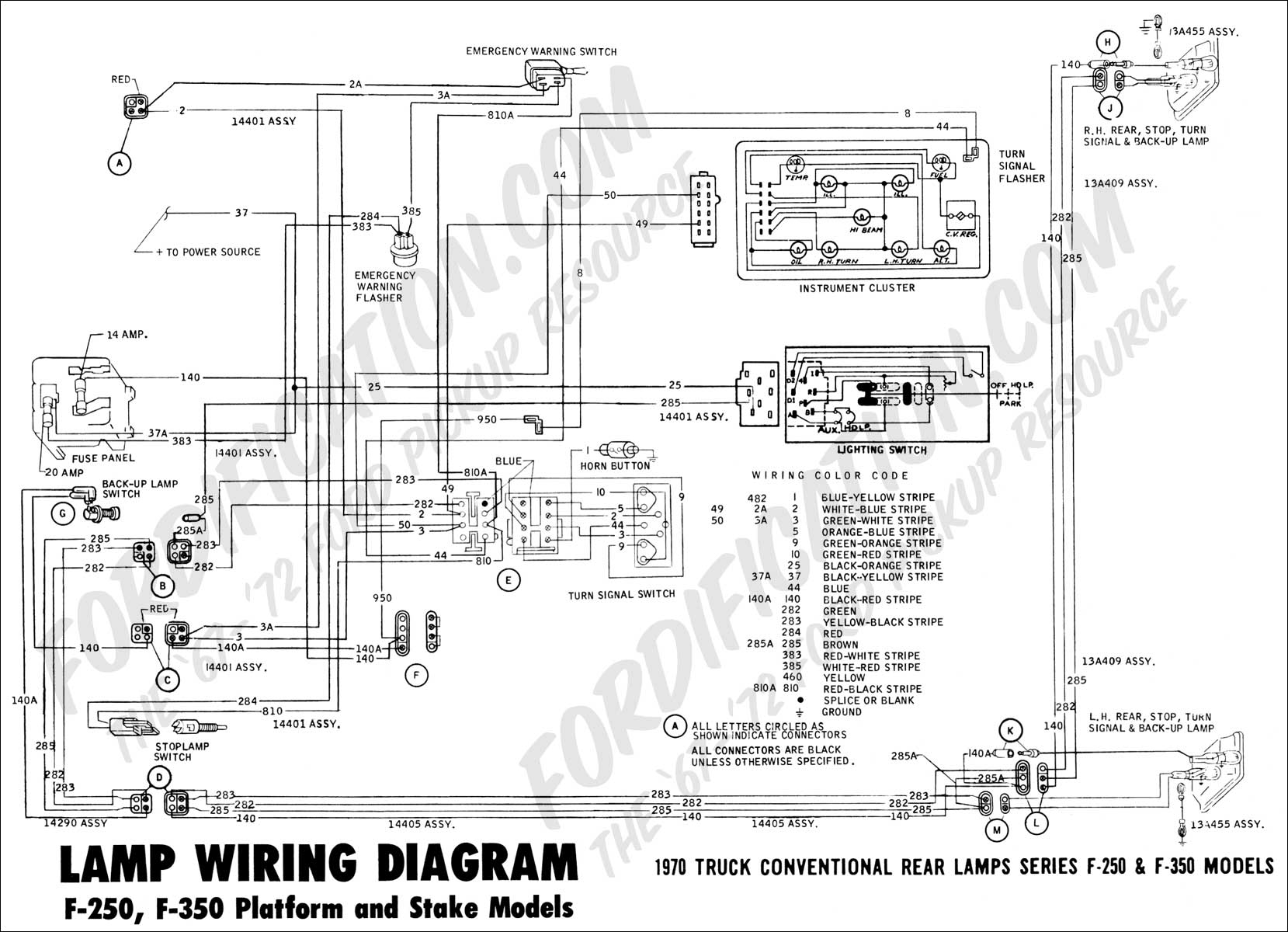 Ford Chassis Tail Light Wiring | Wiring Diagram - 2001 Ford F150 Trailer Wiring Diagram