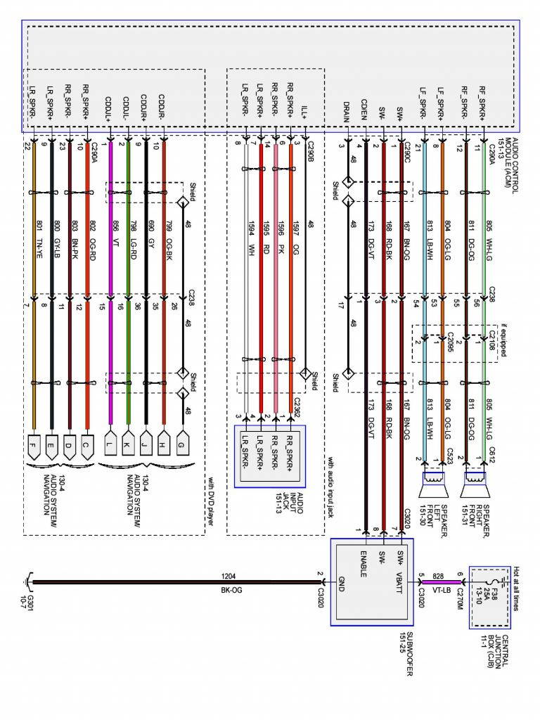 Ford E250 Trailer Wiring Diagram - Mikulskilawoffices - Trailer Wiring Diagram Ford F150