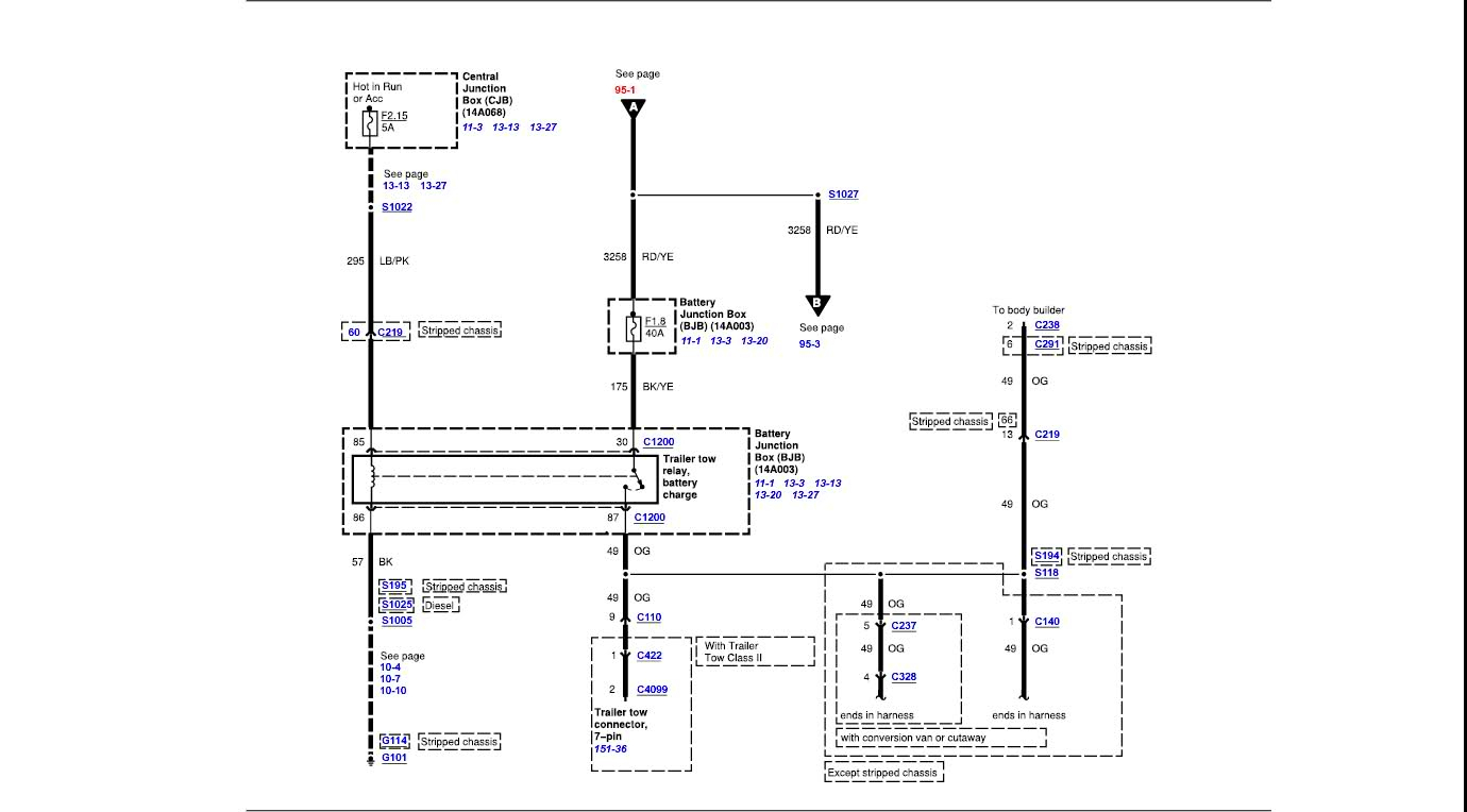 Ford Econoline Trailer Wiring Diagram - Data Wiring Diagram Site - Ford E350 Trailer Wiring Diagram