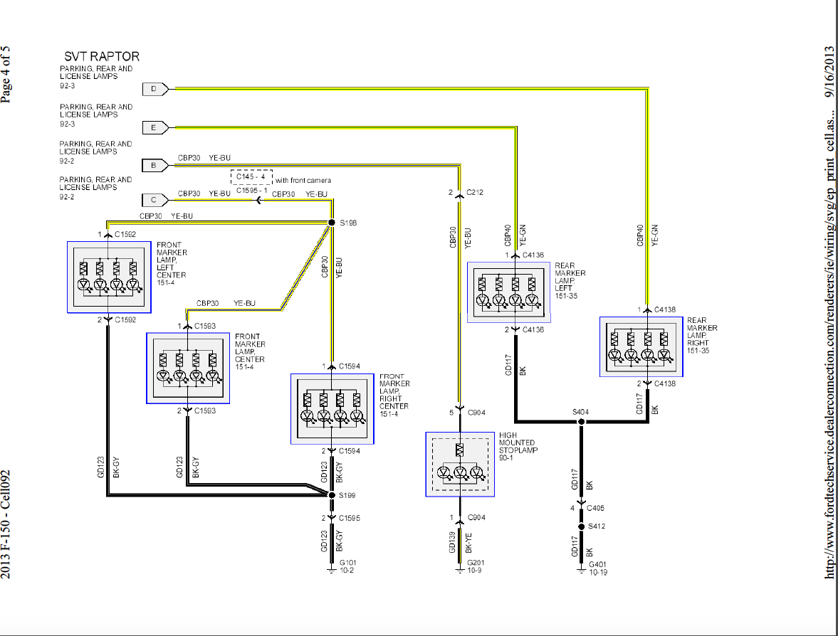 Ford F 150 Wiring Harness Diagram - Wiring Diagrams Click - 2014 F 150 Trailer Wiring Diagram