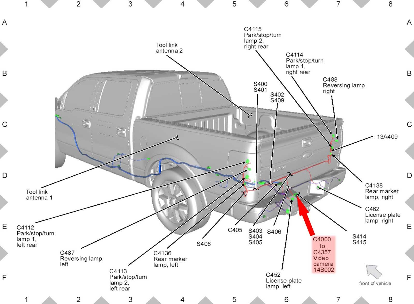 Ford F 150 Wiring | Wiring Library - 97 Ford Trailer Wiring Diagram