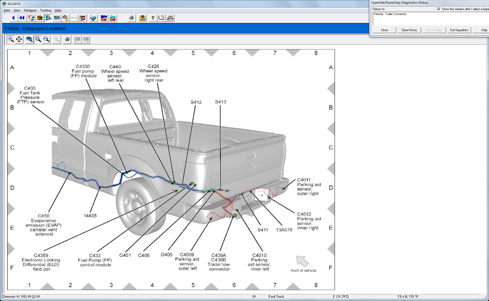 Ford F 250 Trailer Plug Wiring Diagram 7 Pin - Wiring Diagrams Hubs - Ford Trailer Brake Controller Wiring Diagram