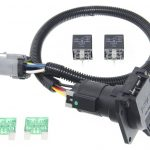 Ford Replacement Oem Tow Package Wiring Harness, 7 Way (Super Duty   Ford E250 Trailer Wiring Diagram