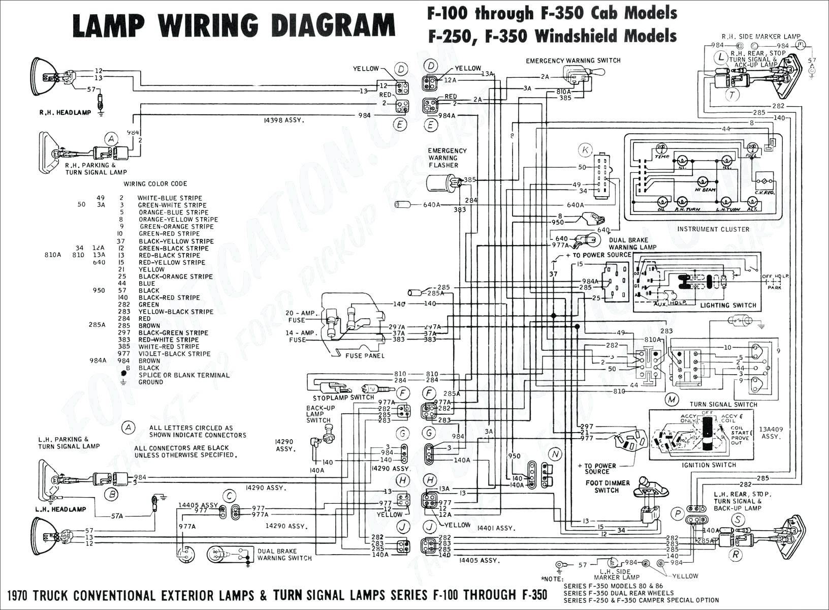 Ford Wiring Harness Diagram - Republicreformjusticeparty - Universal Trailer Wiring Diagram