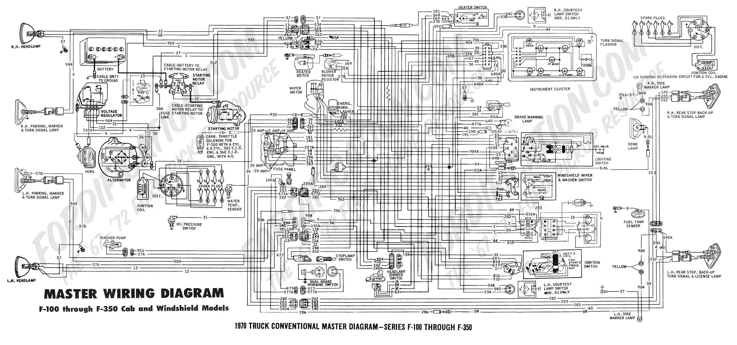 Ford Wiring | Wiring Diagram - 02 F350 Trailer Wiring Diagram
