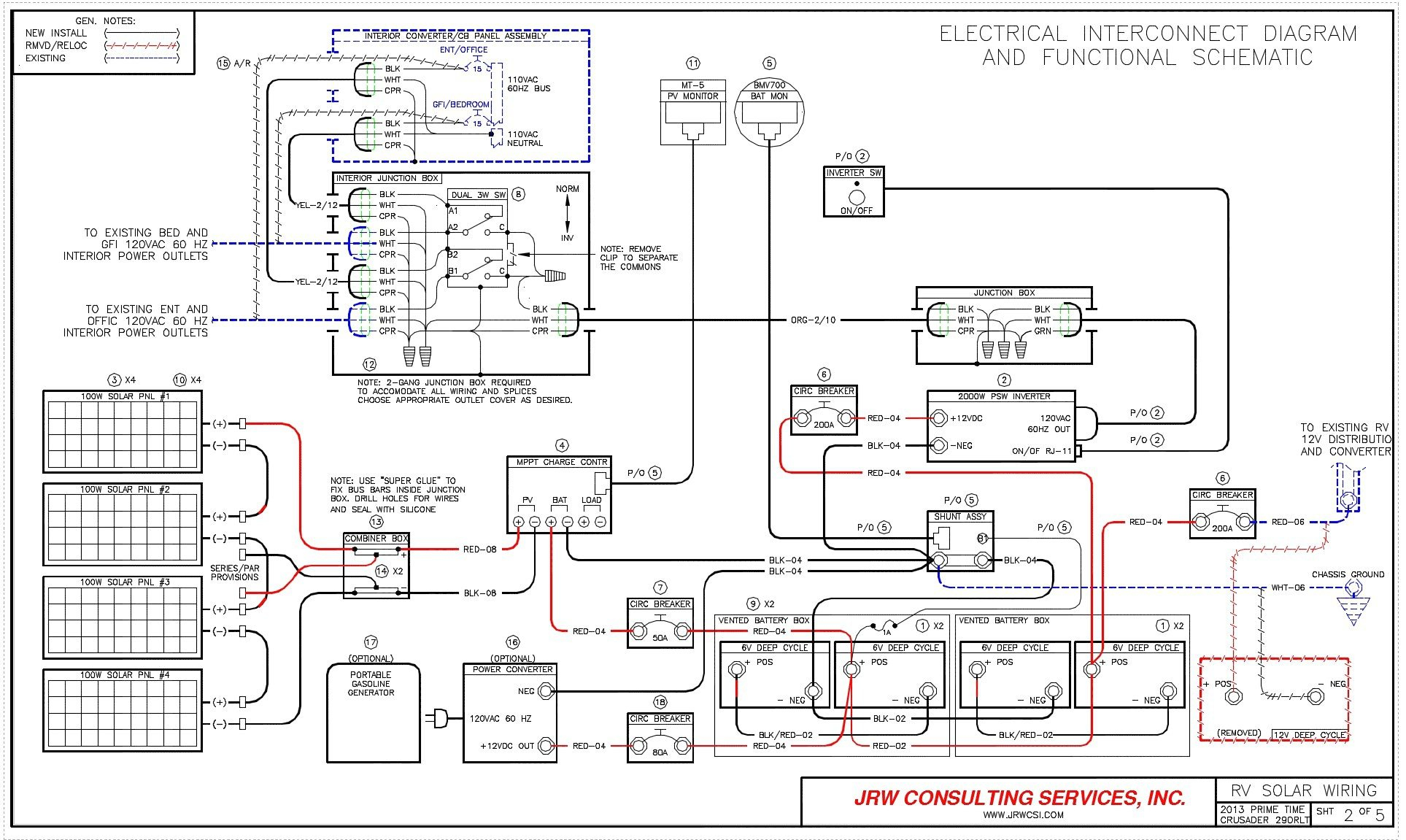 Travel Trailer Slide Out Wiring Diagram