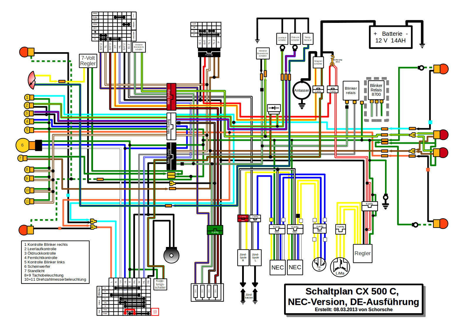 General Wiring Diagram - Wiring Diagram Blog - T@b Trailer Wiring Diagram