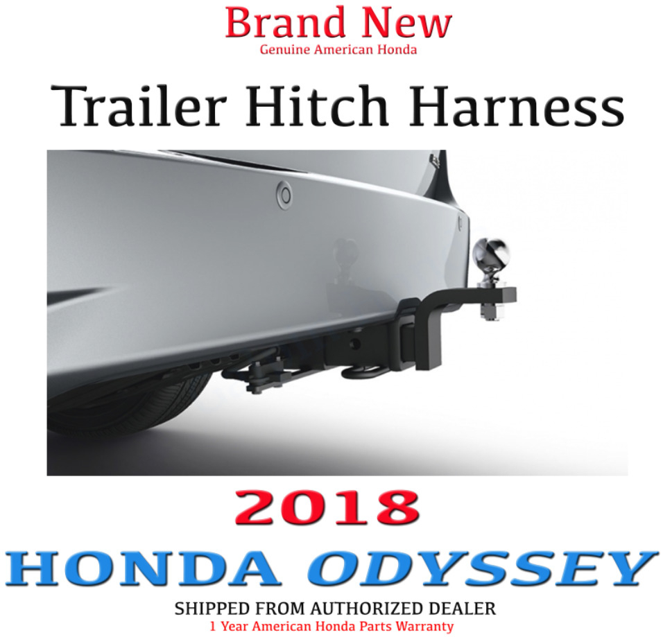 Genuine Oem Honda Odyssey Trailer Hitch Wire Harness 2018 Wiring | Ebay - S&h Trailer Wiring Diagram