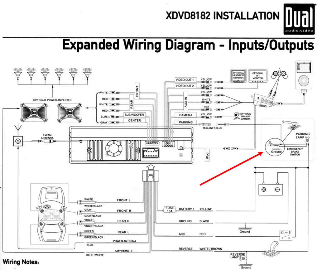 Gl1800 Audio Wiring Diagram - Wiring Diagrams Hubs - Gl1800 Trailer Wiring Diagram