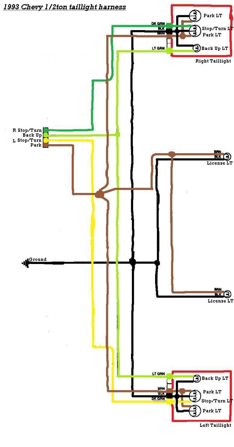 Gm Trailer Wiring Color Code | Wiring Library - Semi Trailer Tail Light Wiring Diagram