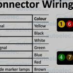 Great Of 4 Pin Trailer Connector Wiring Guides - Wiringdiagramsdraw - Trailer Wiring Diagram Australia 7 Pin Flat
