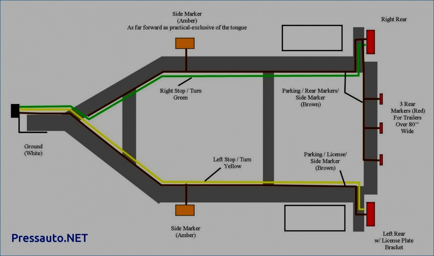 Great Of 4 Way Wiring Diagram For Trailer Lights Flat Library - Wiring Diagram For Trailer Lights 4 Way
