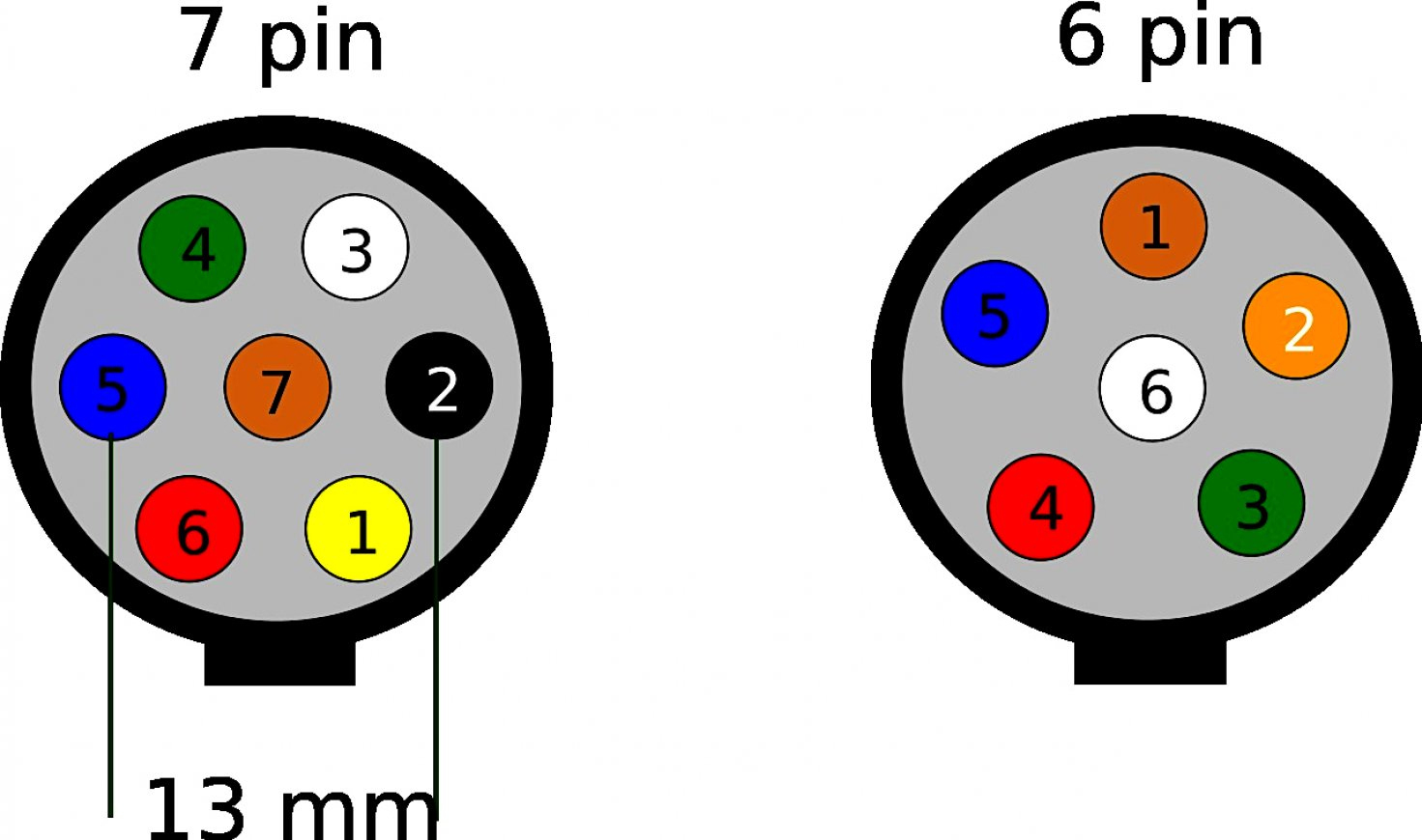 Great Trailer Hitch Wiring Diagram 7 Pin Ford Data Way Plug Chevy - Wiring Diagram Trailer Hitch