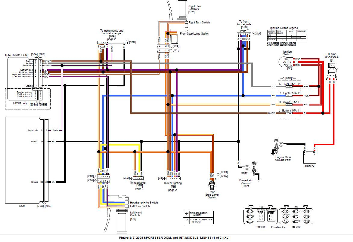 Harley Trailer Wiring Diagram Free Picture Schematic | Wiring Diagram - Motorcycle Trailer Wiring Diagram
