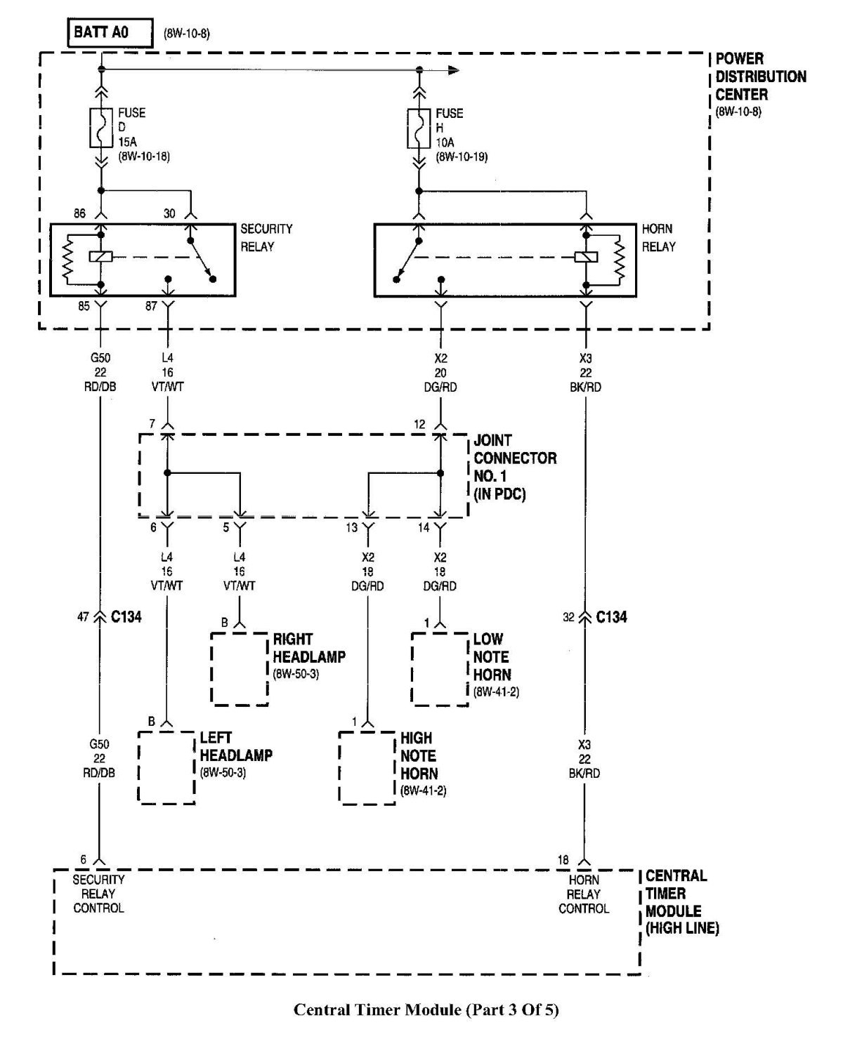 Headlight Wiring Diagram For 2001 Dodge Ram 2500 - All Wiring - 1999 Dodge Ram 2500 Trailer Wiring Diagram