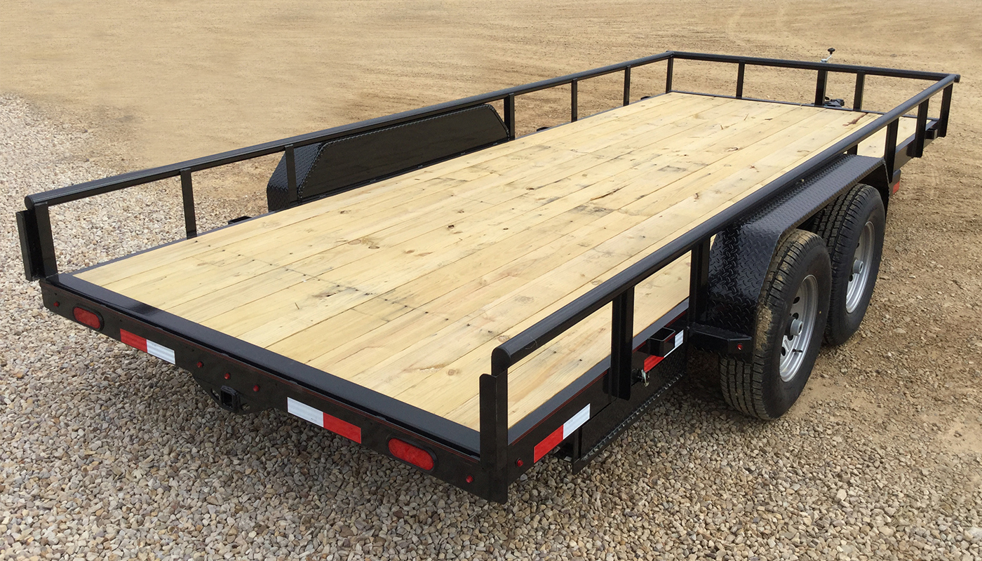 Heavy Duty Utility Trailer | U5 Channel Frame Utility Trailer - Lamar Trailer Wiring Diagram