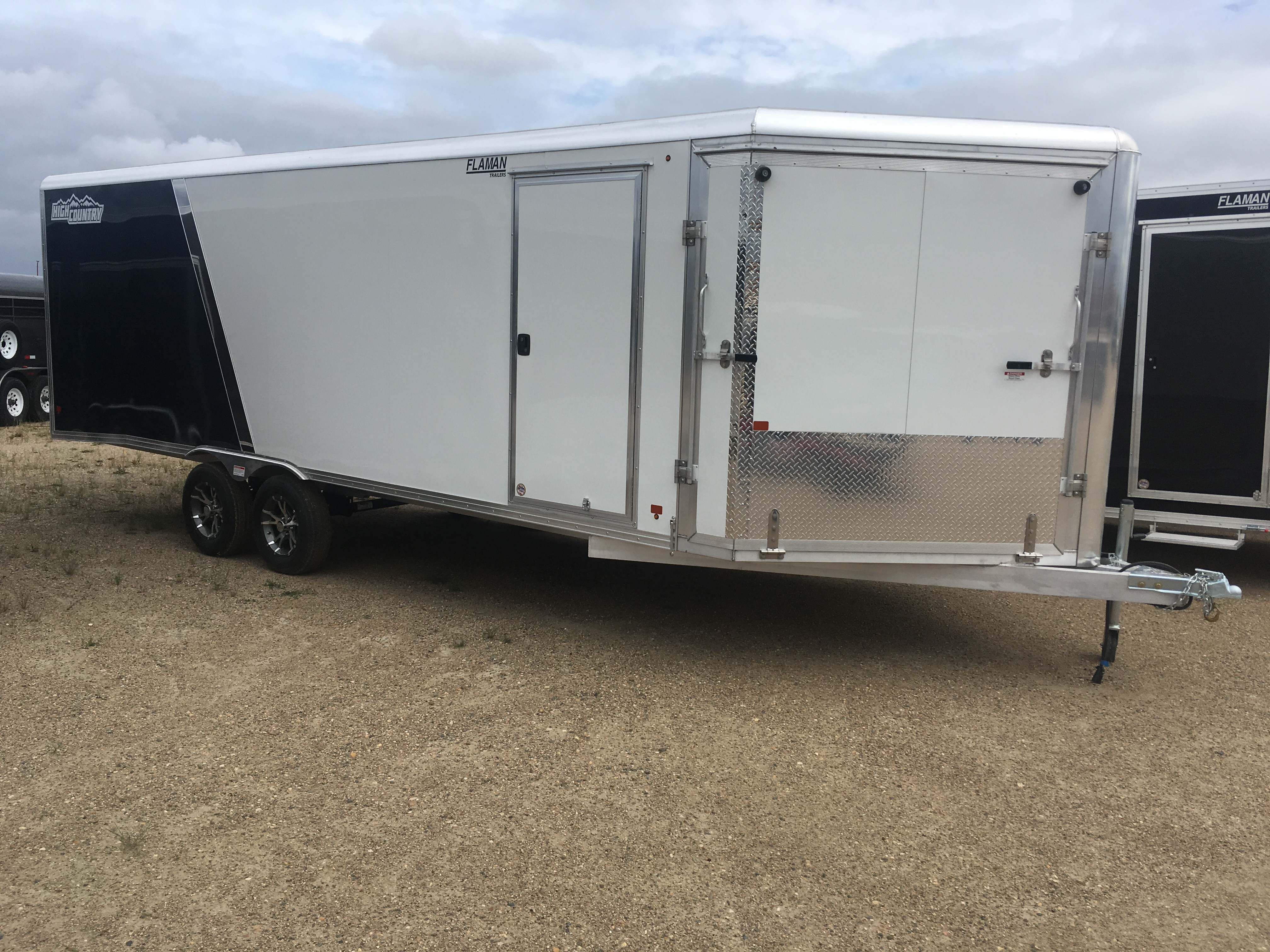 High Country Aluminum 2-Place Enclosed Sled Trailer - 2 Place Snowmobile Trailer Wiring Diagram