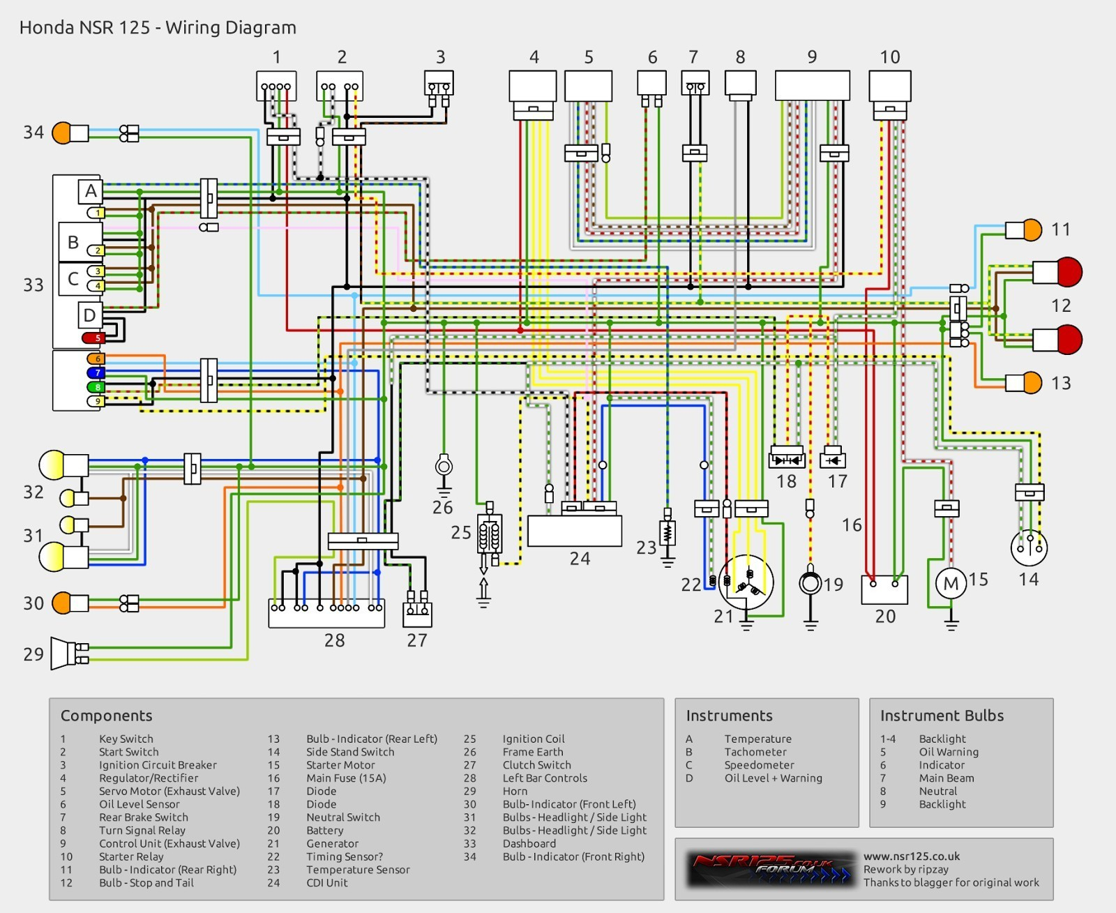 Gl1800 Trailer Wiring Diagram