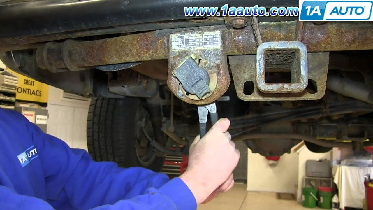 How To Install Replace Trailer Harness Plug 2000-06 Chevy Suburban - Basic Trailer Wiring Diagram