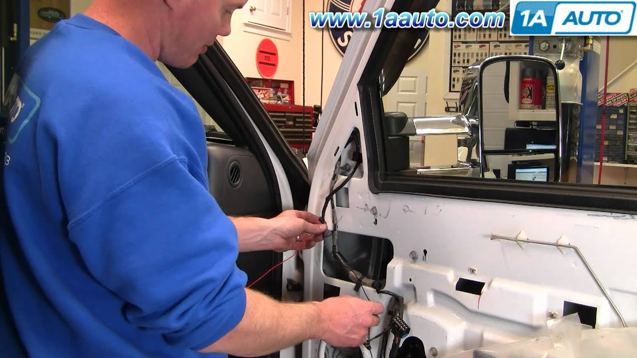How To Upgrade Tow Mirrors 01-02 Gmc Sierra Part 1 - Youtube - 2013 Chevy Silverado Trailer Wiring Diagram