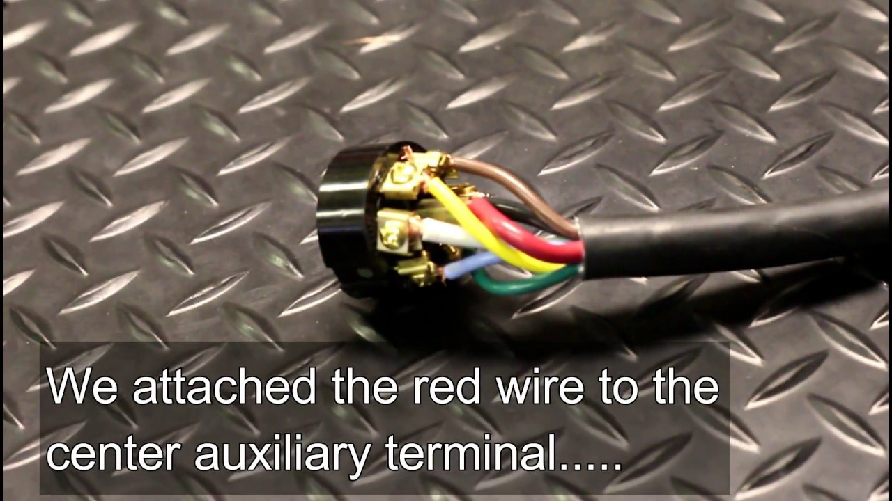 How To Wire A 7 Way Trailer Plug.. The Right Way - Youtube - Rv Trailer Plug Wiring Diagram