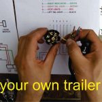 How To Wire A Trailer Plug   7 Pin (Diagrams Shown)   Youtube   Standard 7 Way Trailer Wiring Diagram