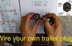 How To Wire A Trailer Plug – 7 Pin (Diagrams Shown) – Youtube – Trailer Plug In Wiring Diagram