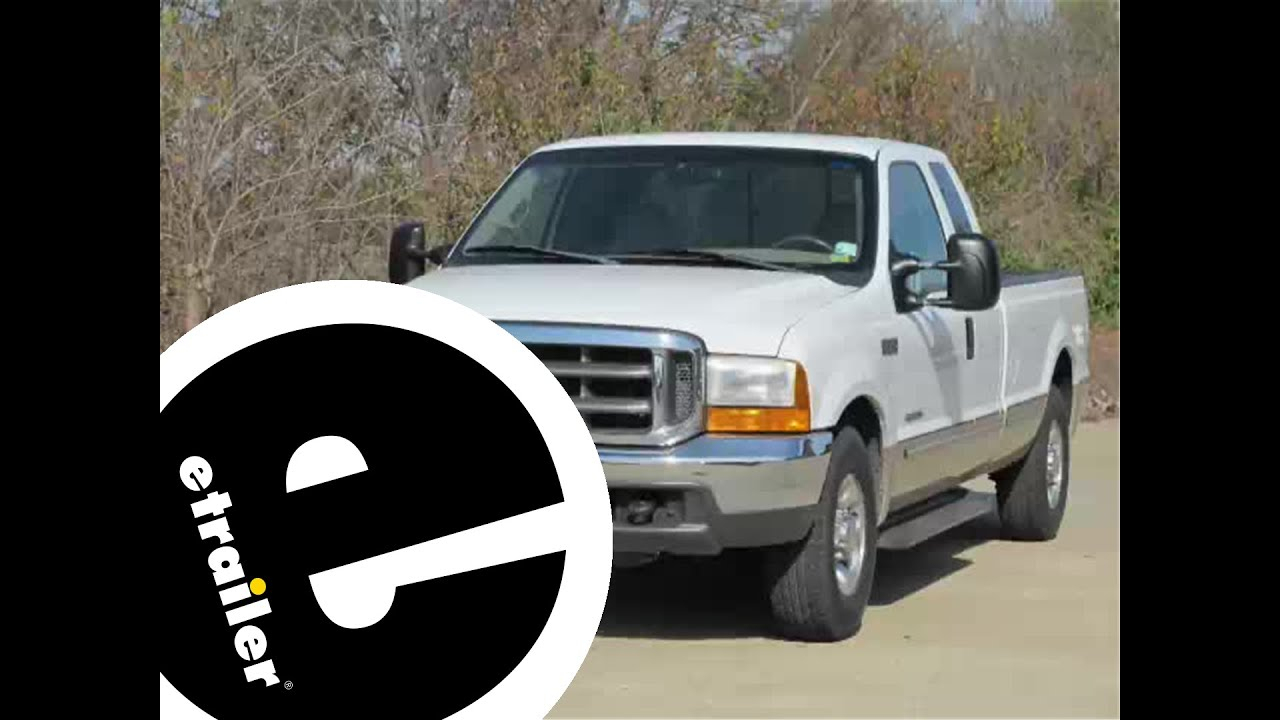 Install Trailer Wiring 1999 Ford F250 118243 - Etrailer - Youtube - 1999 Silverado Trailer Wiring Diagram