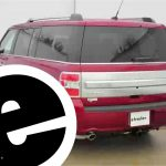 Install Trailer Wiring 2014 Ford Flex 118472   Etrailer   Youtube   2013 F 150 7 Pin Trailer Wiring Diagram