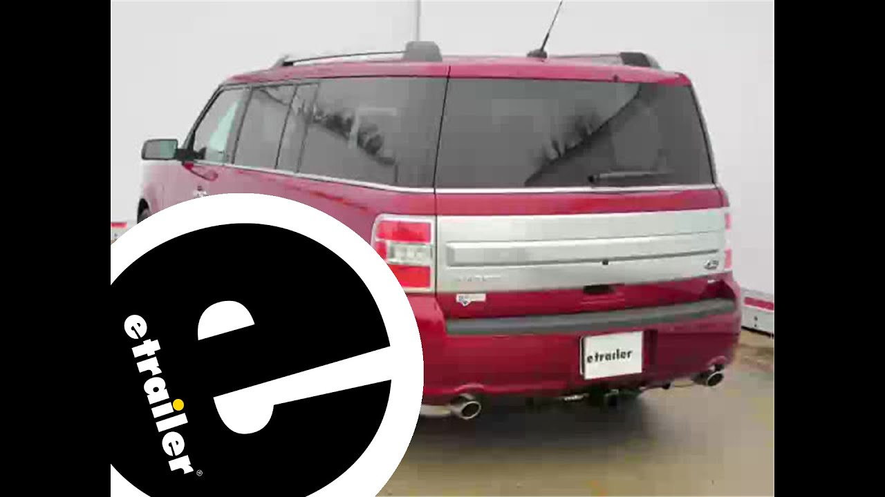 Install Trailer Wiring 2014 Ford Flex 118472 - Etrailer - Youtube - 2013 F 150 7 Pin Trailer Wiring Diagram