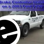 Install 2003 Ford F250 Brake Controller   Etrailer   Youtube   2006 Ford F250 Trailer Brake Controller Wiring Diagram