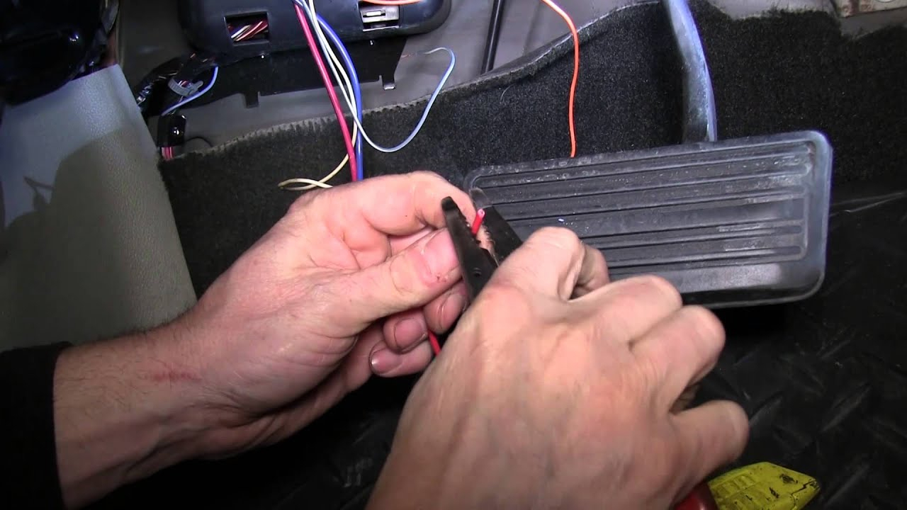 Installation Of A Trailer Brake Controller On A 2008 Chevrolet - 2008 Chevy Silverado Trailer Brake Wiring Diagram