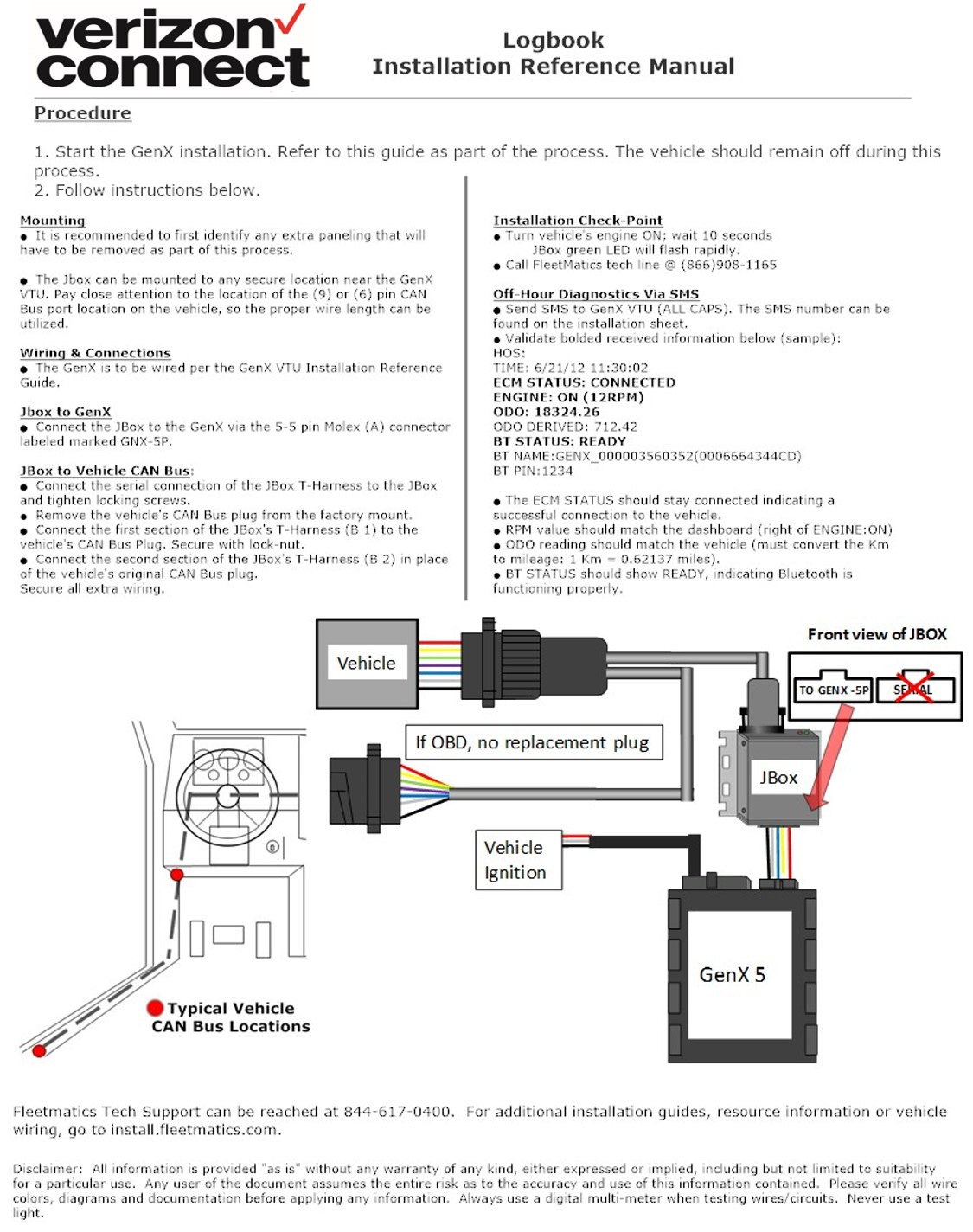 Installation Resources | Verizon Connect - Dodge 7 Way Trailer Plug Wiring Diagram